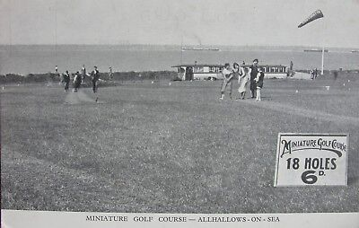 Miniature Golf Course Allhallows On Sea Kent Early Pc