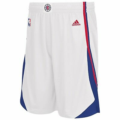 Adults XLarge LA Clippers Home Swingman Shorts H822