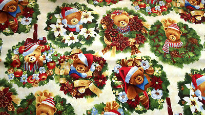 Nutex 88600 TREASURE ISLAND COL 103 SCATTER 100/% Cotton Fabric