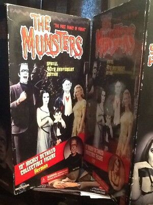 The Munsters Lili And  Herman  2 Sets Still In Box-- Majestic Studios