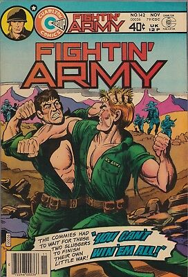 Fightin' Army #142 (Nov 1979, Charlton) FN