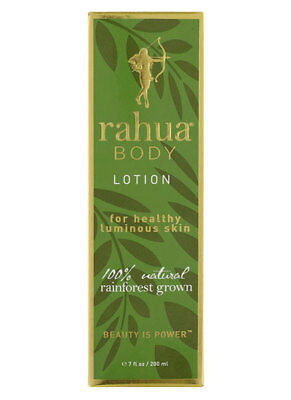 RAHUA BODY LOTION  200ml 100% Natural Rainforest Grown - New & Boxed