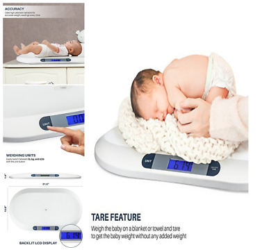 Smart Weigh ORIGINAL Scale Baby Digital toddler Weight Nursery For infant- NEW