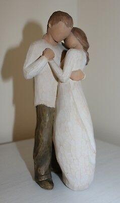 Willow Tree Promise Carved Figurine #26121 in excellent condition with box
