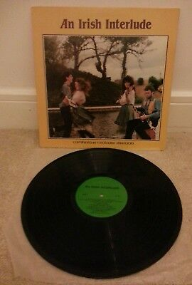 Incredibly Rare HTF Irish Traditional Album. An Irish Interlude CL34 CCE Records