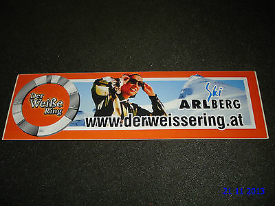 1 Authentic Ski Arlberg Sticker #1 / Decal