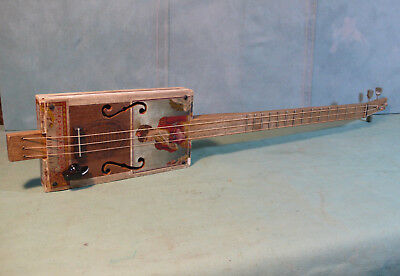 Vintage Marcella Cigar Box Guitar By Dirt Pie,