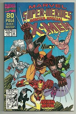 1st Squirrel Girl Appearance Marvel Super Heroes Winter Special X-MEN 1991 VF+