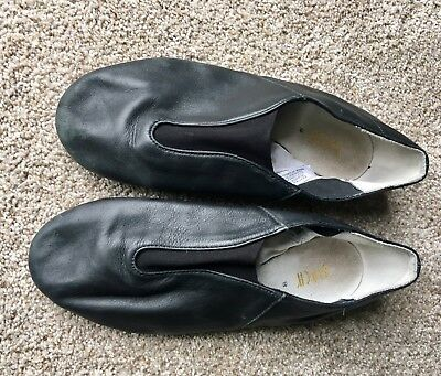 Bloch jazz shoes - black - Size 8 - USED - free shipping