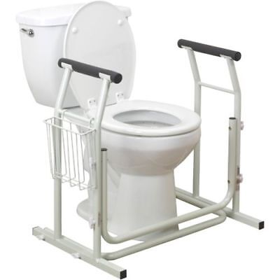 Drive Free Standing Toilet Safety Support Frame Item #RTL12079