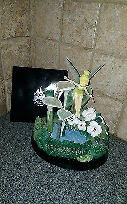 Tinkerbell Fountain Art of Disney Peter Pan Limited Edition Figure in Box