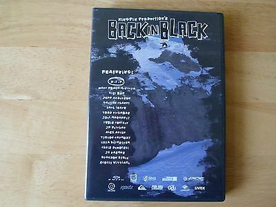 BACK IN BLACK - snowboard DVD snow board