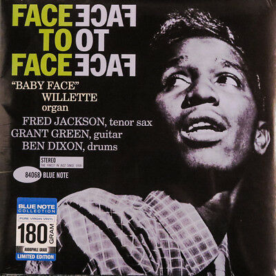 Lp 'baby Face' Willette Face To Face  Vinyl Jazz