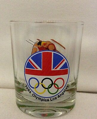 1984 Olympics Los Angeles glass British team boxing theme