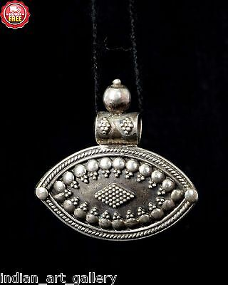 Vintage Style Unique 92.5 Silver Very Beautiful Pendant. G10-17