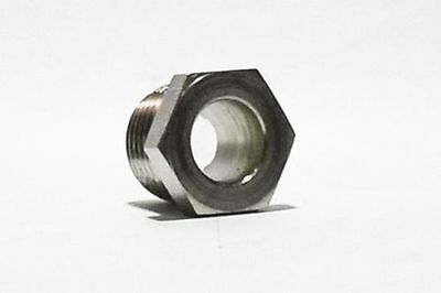 """Sight Glass, Type 303 Stainless Steel, Easy-to-See, 2"""" NPT, 50 psi  6490T18"""