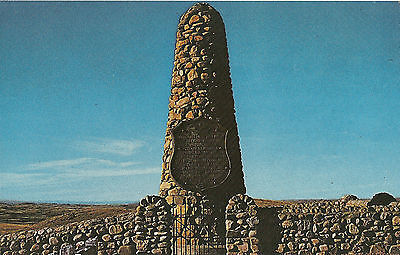 Vintage Postcard Military Monument 1866 Red Cloud Wyoming