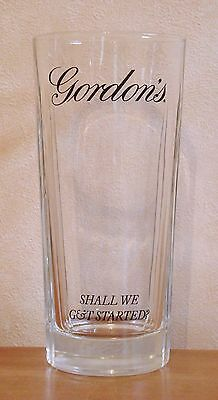 Gordon's Gin Highball Glass Pub Home Bar Hi-ball