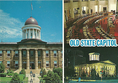 Postcard Old State Capitol Chicago Illinois Usa