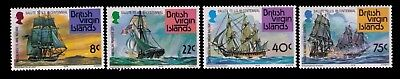 1976 Virgin Islands stamps,Ships Sc# 309-12 Cpl.MNH set,CV:$5.25