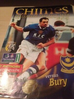 Portsmouth City Vs Bury 13.2.1999