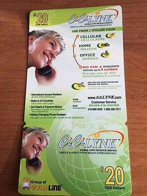 Global Long Distance Calling Card (CiCi Lynk) - $8