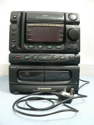 Pioneer HiFi XR-P760F with 25+1 CD changer deck, RDS Radio – with Remote Control