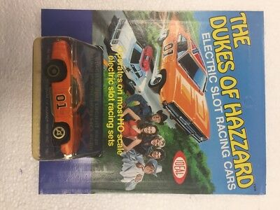 1981 The Dukes of Hazzard Electric Slot Racing Cars