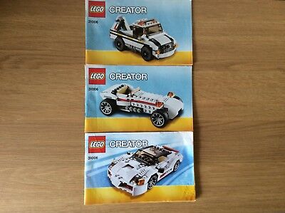 Lego Creator 31006 Instruction Manuals