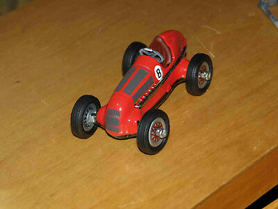 Schuco Tinplate clockwork Mercedes racing car.