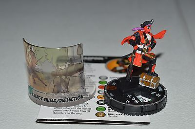 Marvel Heroclix Deadpool and X-Force Pirate Deadpool Chase 065