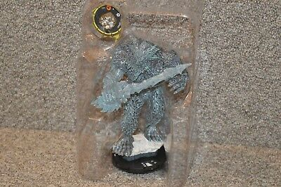 Marvel Heroclix The Mighty Thor Frost Giant Super Booster & Spear (NO CARDS)