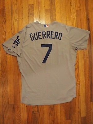 Alex Guerrero Game Used Worn 2014 Los Angeles Dodgers Australia Opener Jersey