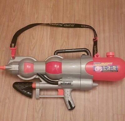 Super soaker CPS 1-3-5 blaster by larami (2000) GC & TESTED