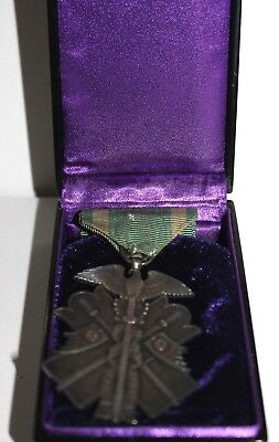 Japanese Military Ww2  Great East Asia War Bravery Award Medal Medal 8 Class