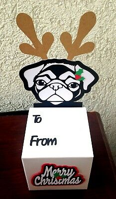 Pug Gift Box for Homecrafted Christmas Goddies and Cookies