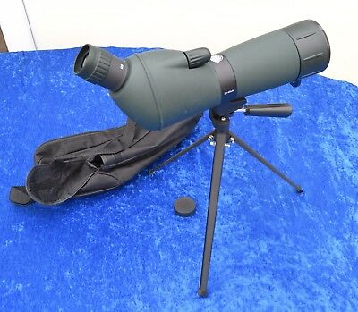 Adventuridge Spotting Scope  20-60x60 Includes table tripod and case. Excellent