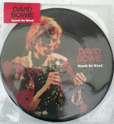 "David bowie - knock on wood 7"" picture disc. New"