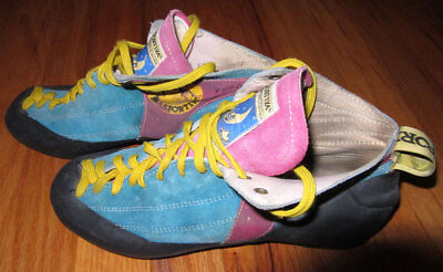 LaSportiva Evolution Rock Climbing Shoes Size 41.5