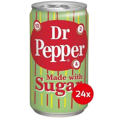 Dr Pepper Made with Sugar 24 x 355 ml