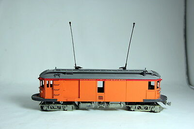 O Scale Brass & Wood Dayton & Western Trolley Signed Millette