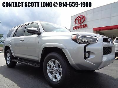 2017 Toyota 4Runner New 2017 SR5 4x4 Navigation 3RD Row Seat New 2017 4Runner SR5 4x4 Silver Paint Navigation Third Row Seat 4WD 4.0L V6
