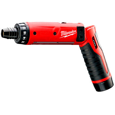 Milwaukee 2101-21 M4 4V 1/4-Inch Hex Screwdriver w/ Battery