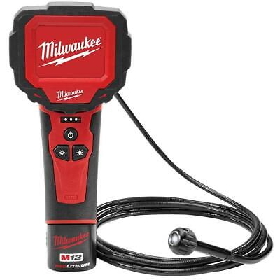 Milwaukee 2314-21 12-Volt 9mm Camera Lense Digital Inspection Camera Kit