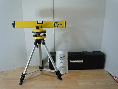 """Pittsburgh 16"""" Laser Level with Swivel Head"""