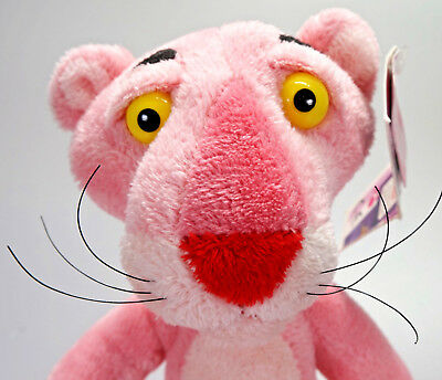 """PINK PANTHER official Aurora Plush Toy 13"""" Bendable To Sit - TAGGED (B)"""