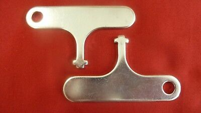 New 2 for 1 Hardened T-Key Payphone Pay Phone Tuff TKey T Key T Wrench AT&T Bell
