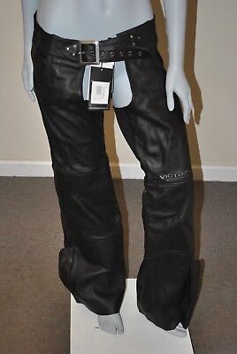 Polaris VICTORY MOTORCYCLE WOMENS LEATHER CHAPS (L) 2863739
