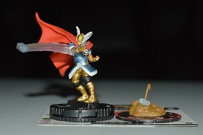 Marvel Heroclix The Mighty Thor Thor Chase 061 & Mjolnir S009