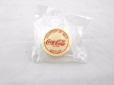 Vintage Courtesy Of Your Coca Cola Bottler Plug In Night Nite Light Rare New